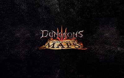 Dungeons 3 - A Multitude of Maps (DLC) cover